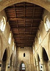 Nave (badger_beard) Tags: st saint peter paul alconbury cambridgeshire cambs church anglican huntingdonshire nave interior arcade bay roof
