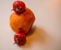 Drying Fruit with Shadow (Gabriel FW Koch) Tags: stilllife fruit driedfruit tomatoes orange tangerine closeup macro canon 100mm indoor shadow bokeh