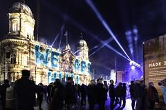 We Are Hull (Tim Glidden) Tags: hull city hullcityofculture2017 art architecture night nikon nightphotography light lightstream