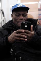 NY Giant (Raúl Abdo) Tags: colorphotography color newyorkcity harlem eastharlem wallst photography candidphotography candids portraits trainphotography subwayphotography ny bronx