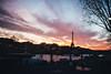 {paris on fire} (Audrey Meffray) Tags: paris toureiffel eiffeltower sunset skyporn reflections france seine canon canon6d sigma35mm14art sigma 35mm 35art