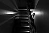 Festive Staircase (Number Johnny 5) Tags: shadow tamron d750 2470mm step blanc staircase stair noir light imanoot monochrome blackandwhite bw black nikon white