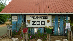 Paramaribo ZOo entrance