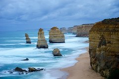 12 Apostles (jbovay) Tags: from jamie bovays camera trip australia 12apostles twelveapostles longexposure seascape cliffs beauty sand