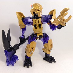 Makuta, The Mask Maker (2.0) 05 (MrBoltTron) Tags: lego bionicle moc revamp 20 makuta mask maker control okoto