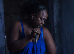 Afro-Cuban singer/chanter (Tripping Along) Tags: natgeoexpeditions cuba havana afrocuban dance