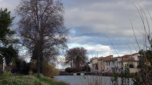 Les maisons au bord du canal
