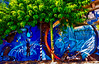 The fisherman (Marco Trovò) Tags: marcotrovò hdr canon5d milano italia italy city cittò street strada naviglio waterway graffiti mural murale pescatore fisherman