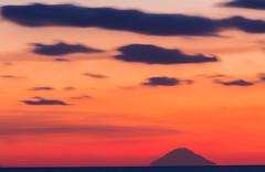 stromboli (OrangeWind (Francesco)) Tags: sunset stromboli sky clouds