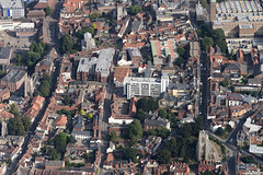 Norwich's The Lanes aerial (John D F) Tags: thelanes norwich norfolk aerial aerialphotography aerialimage aerialphotograph aerialimagesuk aerialview britainfromabove britainfromtheair viewfromplane droneview hires hirez highresolution hidef highdefinition