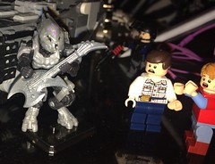 Nothing quite like shredding!!........ (Blackout(Joe)) Tags: brickarms lego halo