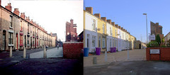 Admiral Grove, Dingle, 1964 and 2017 (Keithjones84) Tags: liverpool merseyside toxteth dingle oldliverpool rephotography history localhistory thenandnow beatles ringostarr ringo