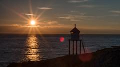 A Starry Night (lhiapgpeonk) Tags: lofoten norwegen wetter austvågøya mitternachtssonne brenna austvagoya lofotenislands midnatsol norge norway novège weather midnightsun soleildeminuit
