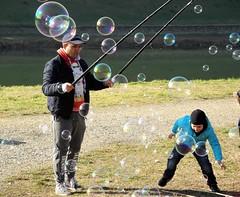 Bubble 1 (ettì) Tags: bolle bambini bolledisapone bubble cascine firenze domenica inverno sole