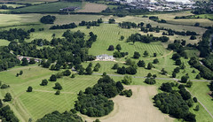 Hylands House & Park in Essex - aerial view (John D Fielding) Tags: hylandshouse hylandspark vfestival essex britainfromabove britainfromtheair aerial aerialphotography aerialimage aerialphotograph aerialimagesuk aerialview hirez hires highresolution droneview viewfromplane