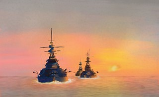 Battlecruisers in the Channel