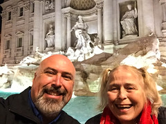20161218 Rome-0262.jpg (Mark Harshbarger Photography) Tags: day1 lynneharshbarger italy trevifountain selfie markharshbarger fountain rome roma lazio it