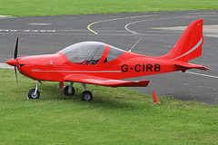G-CIRB (QSY on-route) Tags: city manchester airport barton egcb gcirb 17082015