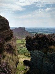 A fine day at Hen Cloud, the Roaches