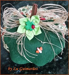 20150816_213037 (Artesanato com amor by Lu Guimaraes) Tags: artesanato fuxico decoração tecido enfeitecozinha