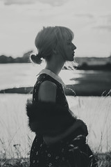 2015 - #5 (levinography) Tags: sunset white black nature girl beauty fashion female still sad memory