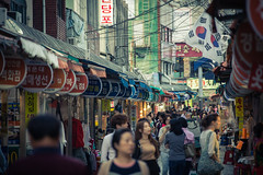 Busan market street by day (1000images) Tags: travel summer canon eos asia korea adventure busan southkorea 28300mm lightroom 6d  28300  2015 canon6d