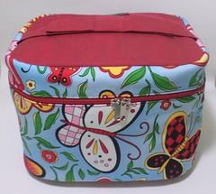 tão resistente (Andreza Muniz) Tags: color handmade patchwork borboletas frasqueira asasbelas frasqueiradetecido vcolorido
