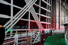 China 2015. Hubei. Three Gorges Dam. Monumental lock. (Margnac) Tags: china river boat lock yangtze jeanpaul chine fleuve cruiseboat cluse threegorgesdam margnac yangts nightnavigation navigationdenuit