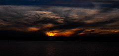 DSC_1031-2 (capt_tain Tom) Tags: sunset lake clouds stormclouds lakelivingston