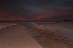 No. 1019 Afterglow (H-L-Andersen) Tags: longexposure sunset sky seascape motion beach river landscape denmark landscapes sand stream å automn le lee manfrotto 6d tversted landoflight leefilters canoneos6d hlandersen tverstedå