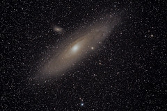 Andromeda Galaxy - October 2015 (scott70d) Tags: camera nightphotography night canon stars photography eos equipment galaxy astrophotography m31 astronomy usm ngc224 6d cameraequipment 400mm andromedagalaxy f56l canon400mmf56lusm canoneos6d ioptron astronomyequipment ioptroncem25 cem25