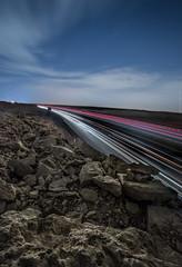 Night-Way (zaid.sp14) Tags: road sky stone night way long exposure south saudi arabia الرياض طويل طريق dirap ديراب تعريض