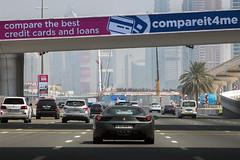 DUBAI: FERRARI ON HIGHWAY (filippo.bonizzoni) Tags: photography photo highway dubai taxi united run ferrari emirates unitedarabemirates reportage emirati superstrada photoreportage emiratiarabi emiratiarabiuniti ferrariadubai