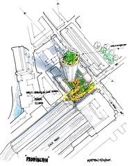 Проект небоскреба в Лондоне от Renzo Piano