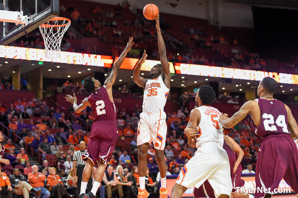 Clemson Photos: 20152016, Basketball, Landry  Nnoko