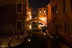 Rio di notte (RobMenting) Tags: travel architecture night europe venezia notte italië venetië