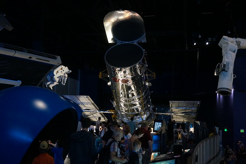 "Hubble Space Telescope Exhibit • <a style=""font-size:0.8em;"" href=""http://www.flickr.com/photos/28558260@N04/22611786050/"" target=""_blank"">View on Flickr</a>"