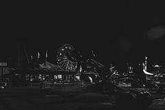 (thomasfilbert) Tags: winter blackandwhite fall abandoned scary alone florida statefair fair haunted creepy adventure trespass ferriswheel rides spacecoast vsco spacecoaststatefair