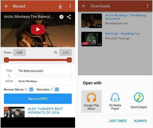 របៀបទាញយក MP3 ពី YouTube និង Soundcloud នៅលើទូរស័ព្ទ Android