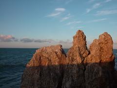 (ambientanimal) Tags: sunset sea italia puglia piccolina peschici zaiana