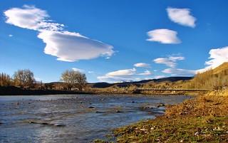 Rio curu leuvu,Chos malal,Patagonia Argentina