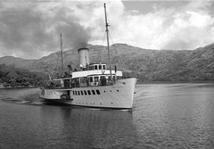 'Maid of the Loch'. (Renown) Tags: boat ship shipping paddlesteamer maidoftheloch