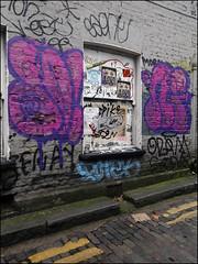 Dowt / Nigel (Alex Ellison) Tags: urban graffiti boobs graff nigel eastlondon throwup throwie tnf dfn dowt dowta
