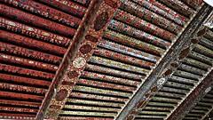 A ceiling inside Jabrin Castle (h0n3yb33z) Tags: castle sunshine fort 17thcentury warmth oman jabrin