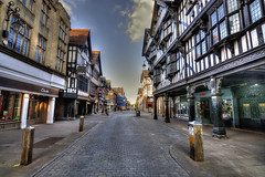 Chester - Eastgate. (MarkWoods2) Tags: cheshire chester eastgate tudorarchitecture tudorstyle tudorbuilding