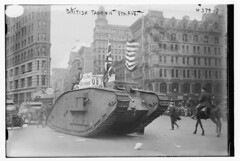 British tank on 5th Ave. (LOC) (The Library of Congress) Tags: newyorkcity skyscraper liberty tank manhattan wwi 5thavenue worldwari worldwarone libraryofcongress ww1 fifthavenue unionsquare greatwar flatironbuilding burnham 5thave britannia fifthave armoredcar armouredcar policehorse warbonds danielburnham markiv thegreatwar fullerbuilding danielhudsonburnham dhburnham dhburnhamco thefirstworldwar danielhburnham xmlns:dc=httppurlorgdcelements11 dinkelberg 175fifthavenue markivtank 1755thavenue armoredwarfare bonddrive frederickdinkelberg 1755thave 175fifthave armouredwarfare frederickpdinkelberg frederickphilipdinkelberg fpdinkelberg markivfemale dc:identifier=httphdllocgovlocpnpggbain25571