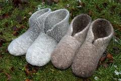 hahtuvatossut x2m (villanne123) Tags: socks felted forsale handknit slippers handknitted 2015 finnwool sukat huovutettu tossut hahtuva myyntiin pirtinkehraamo hahtuvatossut villanne