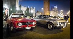 Alfa Romeo Giulia Coupe 1300 Junior et 2000 GTV (Laurent DUCHENE) Tags: 2000 junior alfa romeo gtv coupe giulia 1300 2015 autortro