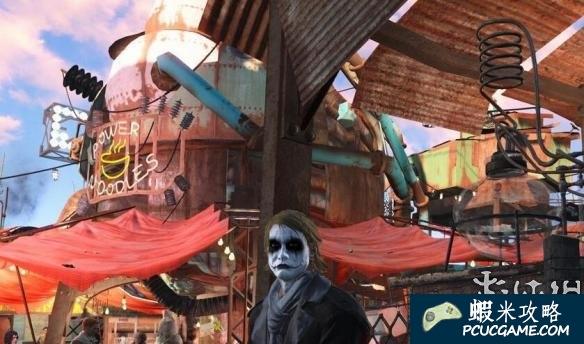 異塵餘生4 蝙蝠俠小丑希斯萊傑捏臉存檔