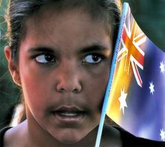 Untitled (caralan393) Tags: portrait flag australiaday eyes brown feeling wonder stars starry